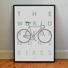 Tiny Bikes Make Big Bike - Road Bike