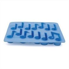 Amazon.com: Kikkerland Cool Tunes Mucical Notes Silicone Ice Cube Tray: Kitchen & Dining