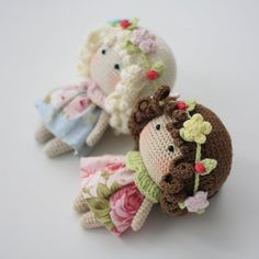 In this article we bring together the latest and current amigurumi knitting toy models. Amigurumi related to t Doll Amigurumi Free Pattern, Doll Patterns Free, Crochet Doll Pattern, Crochet Bunny, Crochet Patterns Amigurumi, Cute Crochet, Amigurumi Doll, Crochet Dolls, Amigurumi Tutorial