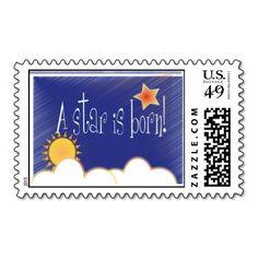 A star is born! stamps