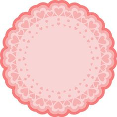 <<DIRECTLY FROM SITE>> 118679: heart doily