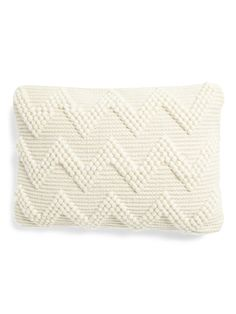 14x20 Chevron Textured Wool Blend Pillow | Throw Pillows | Marshalls