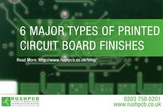 6 Major Types of Printed Circuit Board Finishes Printed Circuit Board, Electrical Engineering, Read More, Boards, Surface, Tech, Electronics, Business, Planks