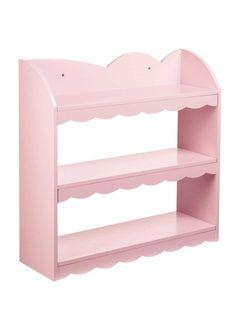 Wall shelf POWDER PINK+WHITE+BEIGE