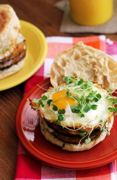 Double Decker Chile Rellenos Breakfast Burgers