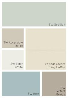 How to Choose Interior Paint Colors for Your Home - Simple Made Pretty - Our Pai.How to Choose Interior Paint Colors for Your Home - Simple Made Pretty - Our Pai.Home Wall Ideas Kitchen Paint Colors, Interior Paint Colors, Paint Colors For Home, Paint Colours, Interior Design, Interior Ideas, Interior Painting Ideas, Kitchen Ideas Color, Coastal Paint Colors