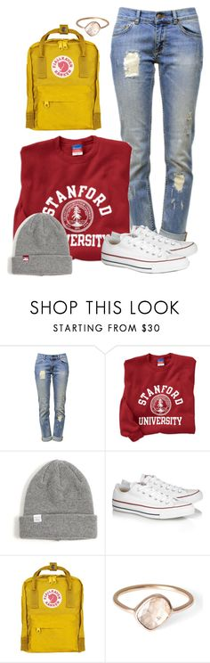 """Back to the Grind"" by styles-love-11 ❤ liked on Polyvore featuring Anine Bing, Norse Projects, Converse, Fjällräven and Parisi"