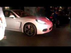 Luxury Porsche 911 Entry At Auto Show