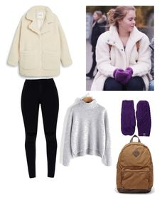 """""""Skam outfit Eva"""" by alinaandreeva4 on Polyvore featuring мода, The North Face и Monki"""