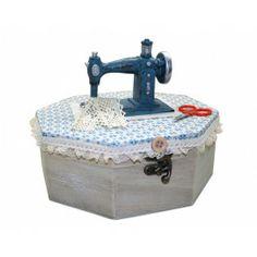 Mini Máquina de Costura Porta Jóias (Decorativa) SD13157