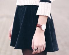 OUTFIT | Striped Knit