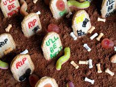 halloween+food | FOODS - RECIPES: Halloween Graveyard Cake Recipes