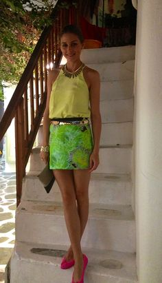 Wearing Tibi In Greece | http://www.oliviapalermo.com/snapped-vacationing-in-greece/