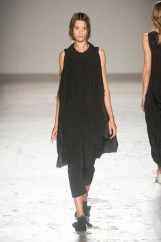 Uma Wang at Milan Fashion Week Spring 2014 - StyleBistro