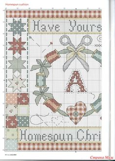 Enjoy cross stitch Christmas