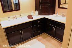 Master Bathroom REVEAL: 80s to Awesome via www.TheKimSixFix.com
