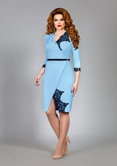 Fashion retro casual 43 Ideas for 2019 50s Dresses, Trendy Dresses, Short Dresses, Elegant Dresses, Latest African Fashion Dresses, Women's Fashion Dresses, Dress Outfits, Classy Work Outfits, Long Sleeve Tunic Dress