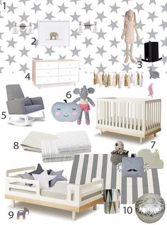 Get the Look: Avery and Sebastian's shared room by SISSY + MARLEY