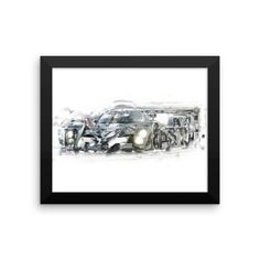 Your Bentley Speed 8! | Framed photo paper poster //Price: $27.19 & FREE Shipping //     #vintageracing