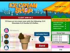 Converting improper fractions fun with this ice cream game from Mr Nussbaum. Great for classroom or math centers. Check out all 10 converting fractions activity ideas! Learning Fractions, Improper Fractions, Teaching Math, Math Fraction Games, Math Games, Sixth Grade Math, Seventh Grade, Grade 3, Ice Cream Games