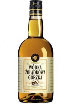 Polish vodka - my best Żołądkowa Whiskey Bottle, Poland, I Am Awesome, Alcohol, Beer, Wine, Drinks, Food, Rubbing Alcohol