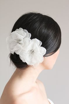 forget the veil ... DELILAH silk flower headpiece