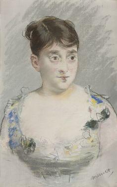 manet douard portrait de mada     drawings     sotheby's n09568lot4gryken