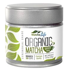 Create an amazing product label for organic MatchaLife matcha green tea! We sell matcha green tea and other health products. Organic Matcha Green Tea, Matcha Green Tea Powder, Ceremonial Grade Matcha, Tea Reading, Cooking Classes, Japanese Food, Gourmet Recipes, Healthy Recipes, Pure Products