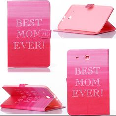 """Luxury Samsung Galaxy Tab 9.6"""" Colorful Designs PU Leather Protector Tablet Case 10 Styles"""