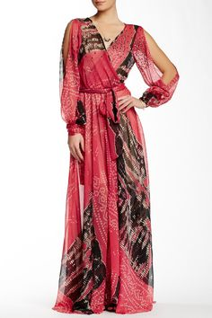 Long Sleeve Maxi Dress by Meghan LA on @HauteLook