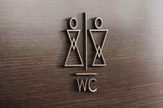WC Signage on Behance