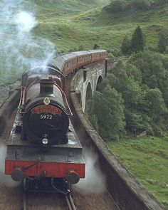 All aboard the Hogwarts Express! Harry Potter steam train comes to Warner Bros Studio