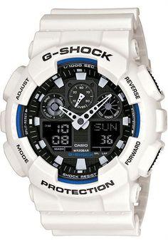 Casio G-Shock GA-100B-7ACR Classic X-Large White