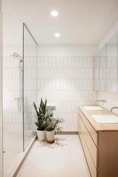 Mooie simpele badkamer