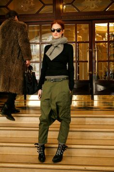 Drop-crotch pants may be on the outs, but the army green utilitarian look is always in. The key to styling the function-meets-fashion...