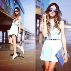 .@Flávia Desgranges van der Linden | Look du jour with @Alice S dress and @zerouv sunglasses sunglasses <3 | Webstagram