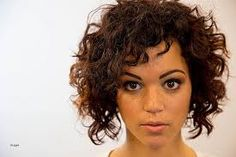 Image result for curly undercut bob