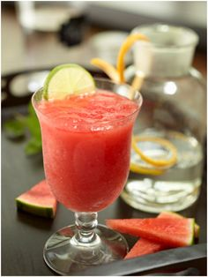 Frozen Watermelon Daiquiri