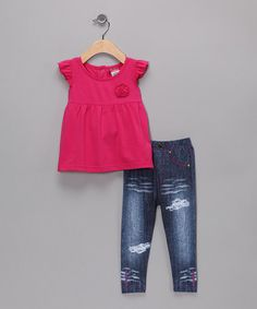 #zulily has so many cute #fall clothes for girls, I would so put my little baby girl Prezlee in so many outfits! Check out their clothes!
