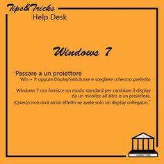 Windows 7: passare a un proiettore