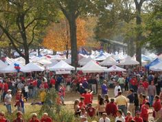 The Grove @ Ole Miss.  A great place to people watch and enjoy your favorite beverage :)
