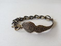 Colorado Spoon Bracelet in Antique Brass by GeorginaBaker on Etsy, $36.00