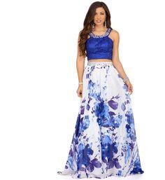 Hannah White Two Piece Dress