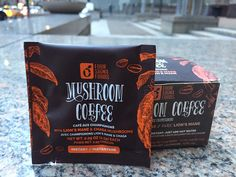 Chaga mushrooms have been used in the past as replacement for coffee during times when it's in short supply, so it's not a big surprise that the two could be paired as far as flavor profile.