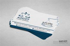 Mavi Avukat Kartvizit Modeli