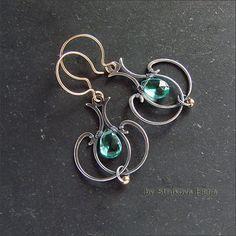 Earrings - Strukova Elena - author decorations