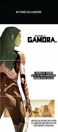 Her name is Gamora. #gotg