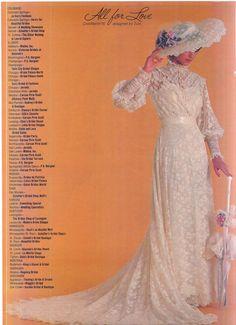 How Gorgeously Feminine Vintage Gowns, Vintage Bridal, Bridal Lace, Bridal Style, Vintage Weddings, 1980s Wedding Dress, Wedding Hats, Wedding Attire, Wedding Gowns