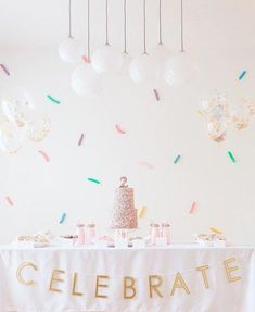 There's no way you'll walk away without a sweet tooth after this one, just warning ya now. Tessa of Starling Studio went with a colorful confetti theme for her twin girls' birthdays since they tak More from my site Confetti twin girls birthday party Donut Birthday Parties, Birthday Party Themes, Birthday Ideas, Birthday Themes For Girls, Girl 2nd Birthday, Cake Birthday, Festa Party, Party Party, Shower Party