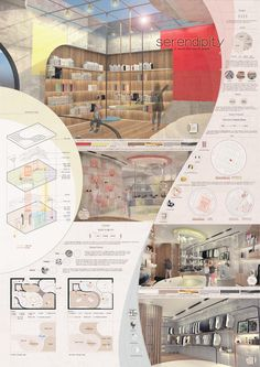 Interior design Done by Chen Qinchuan chenqinchuan can find Presentation boards and more on our website.Interior design Done by Chen Qinchuan chenqinchuan@ Zaha Hadid Architecture, Architecture Durable, Futuristic Architecture, Sustainable Architecture, Parametric Architecture, Parametric Design, Concept Board Architecture, Collage Architecture, Library Architecture